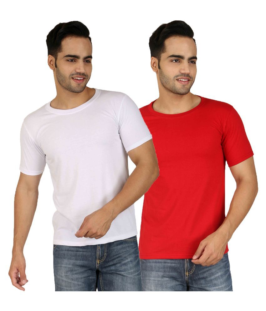 Nimya Multi Round T Shirt Pack of 2