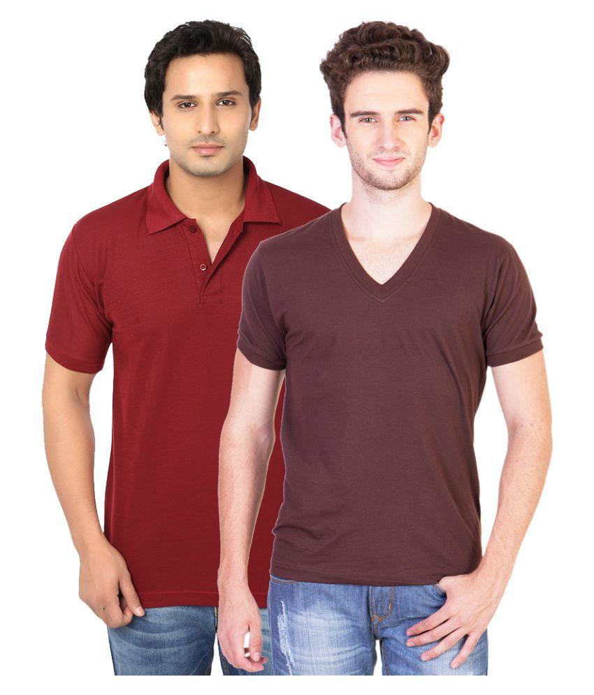 Brandtrendz Multi V-Neck T Shirt