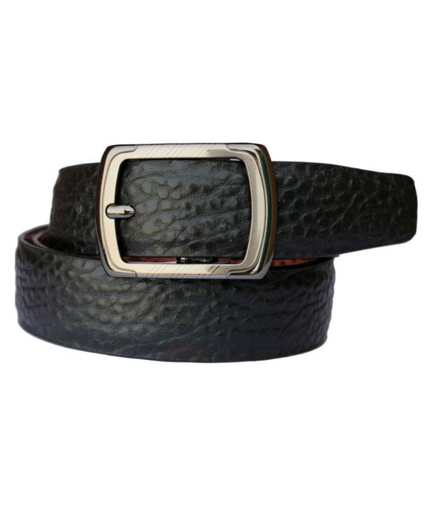 Discover Fashion Black Leather Belt