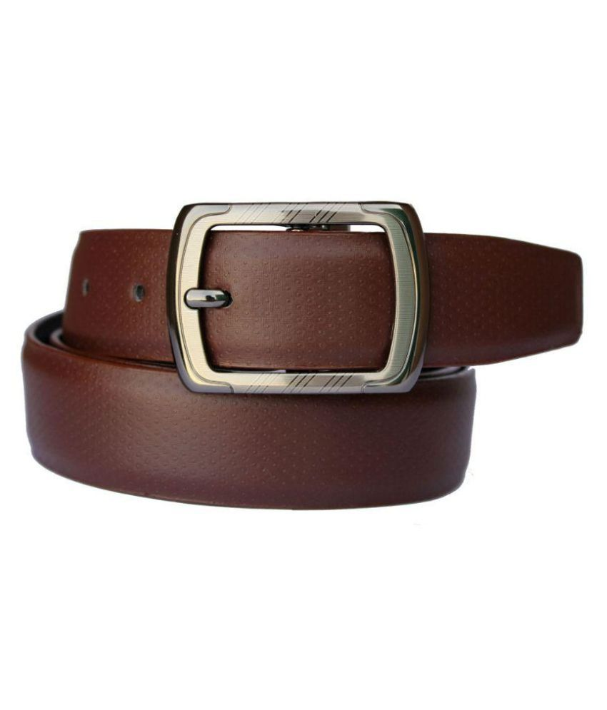 Discover Fashion Brown Leather Belt
