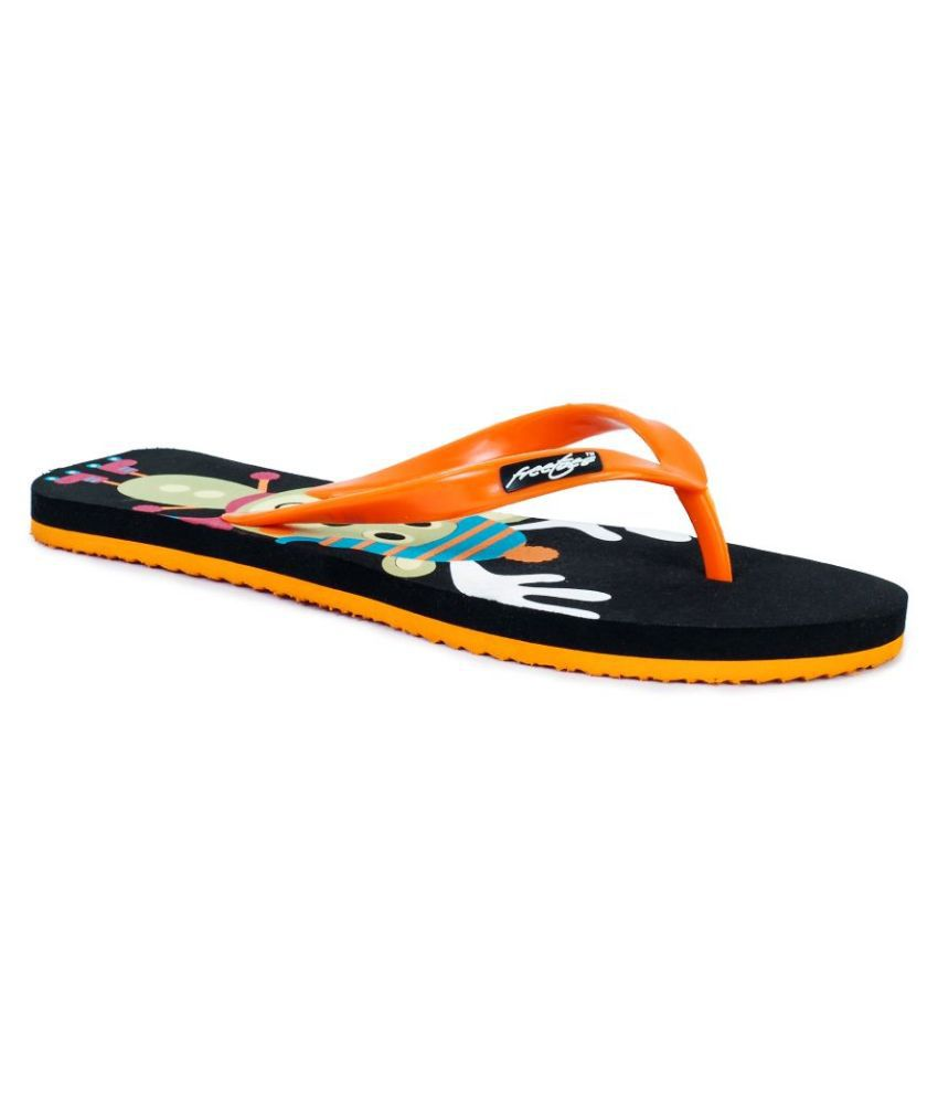 Freetoes Orange Flip Flops