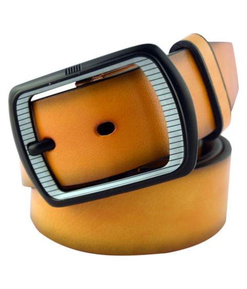IPG Beige Leather Belt