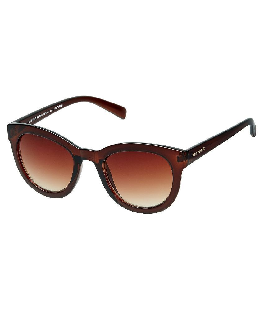 Joe Black Brown Cat Eye Sunglasses ( JB-765-C2 )