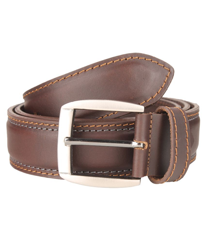 Umda Brown Leather Belt