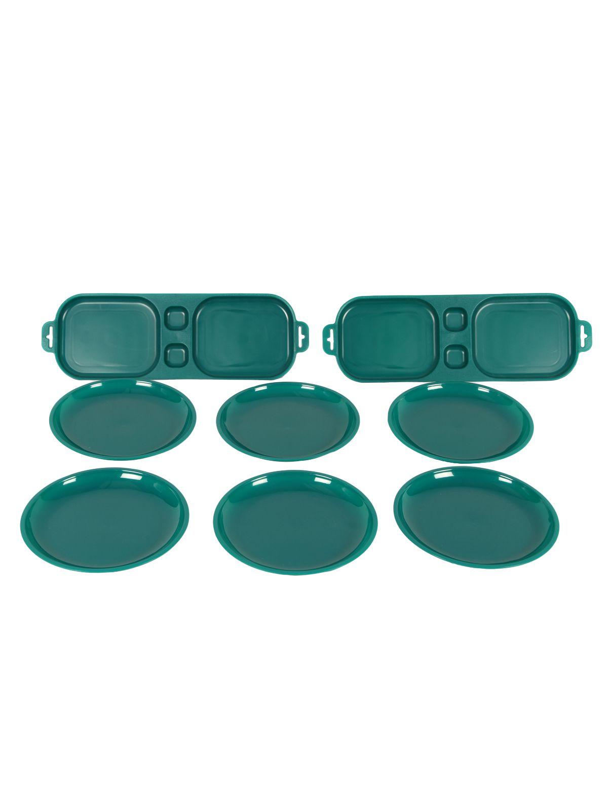 Cutting Edge Plastic Appetizer Snack Set (8 Pcs)
