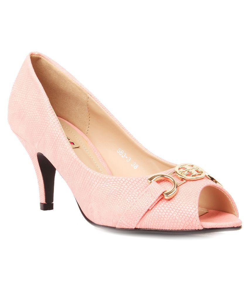 Foot Candy PeachPuff Stiletto Heels
