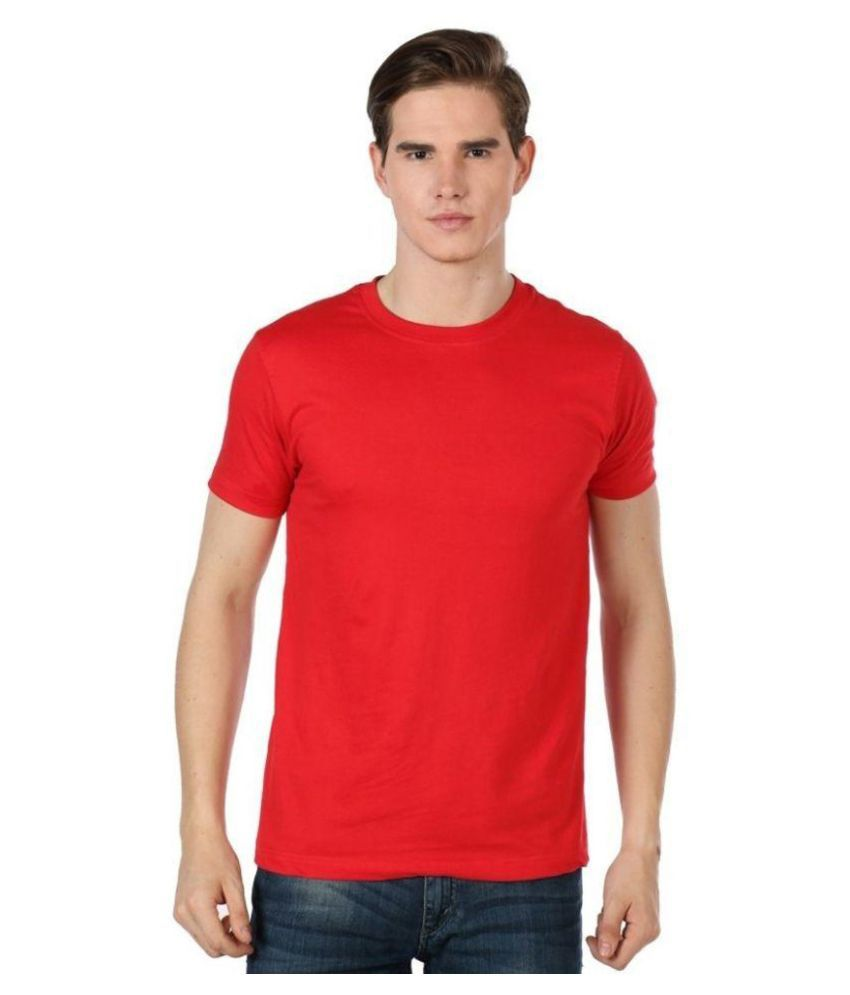 Lee Costo Red Round T Shirt