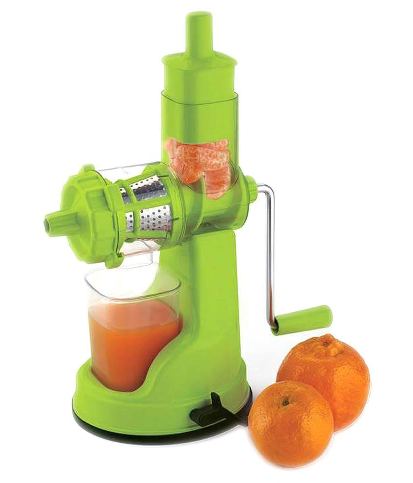 Snapdeal Kitchen Appliances Jen Deluxe Green Plastic Hand Juicer With Juice Collector Buy