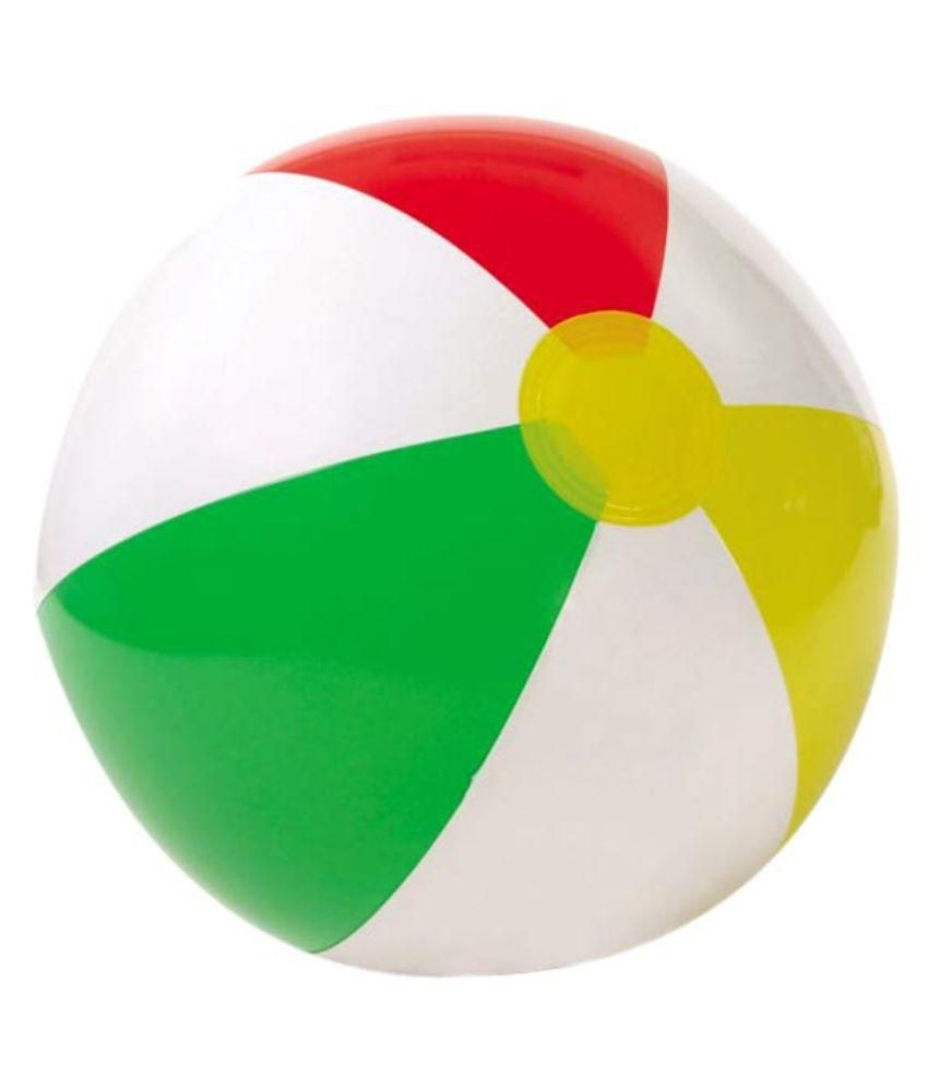 Air Sofa Naaptol: Intex Inflatable Multicolour Beach Ball Available At
