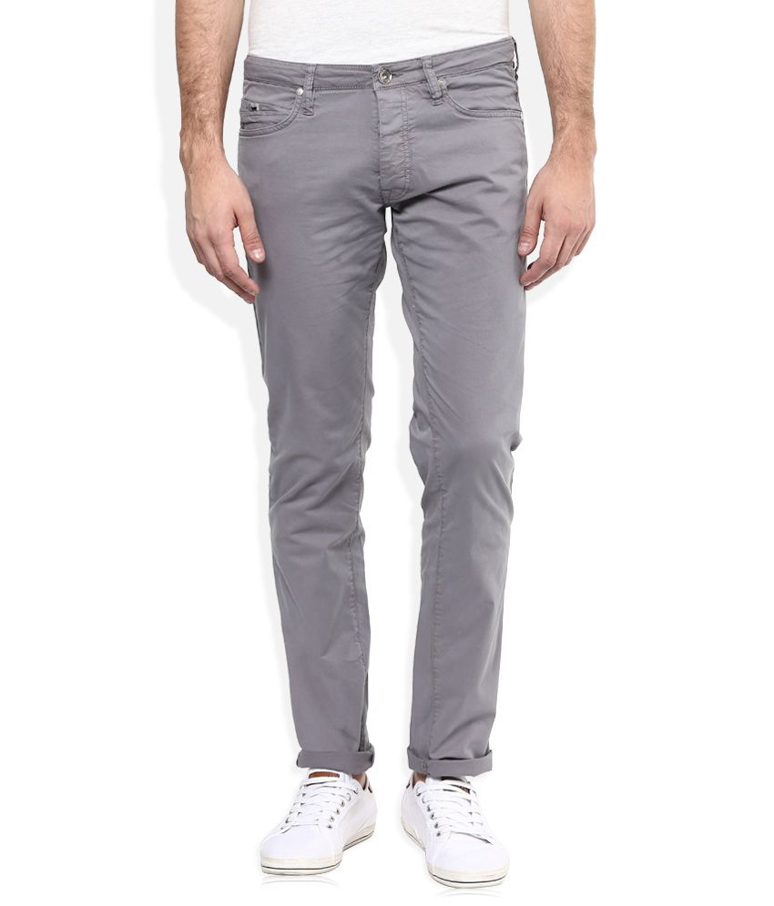 GAS Grey Regular Fit Jeans