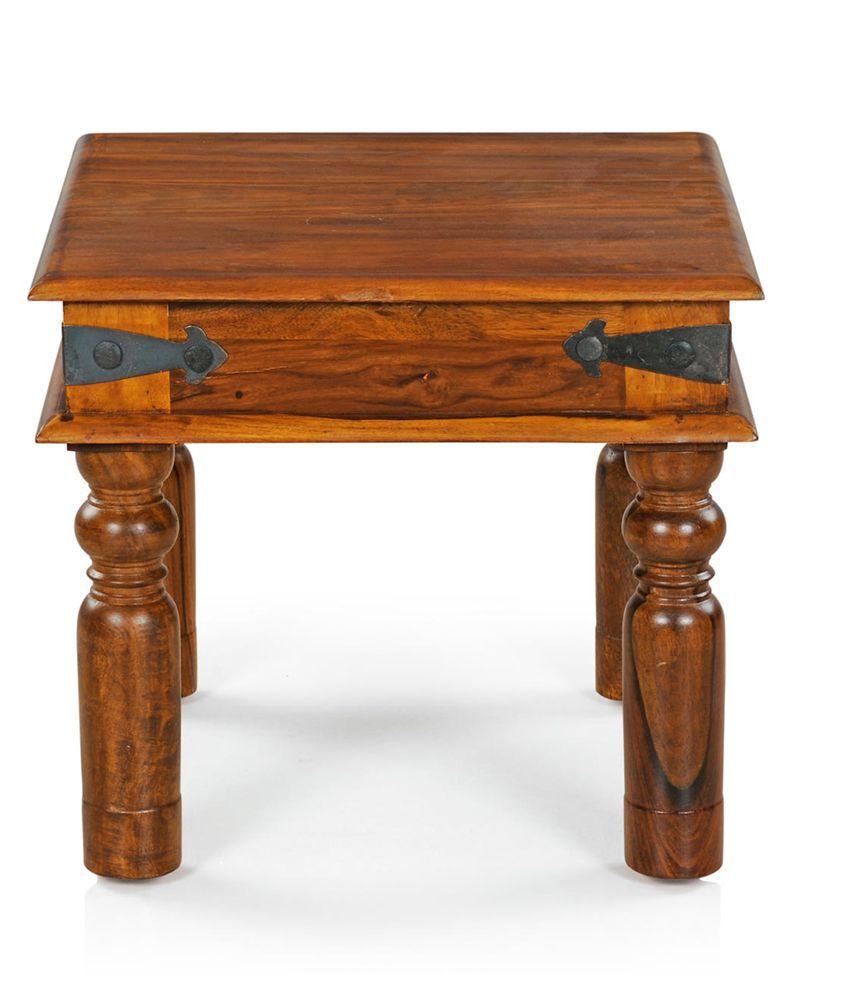 Royal Oak Sapphire Solid Wood End Table