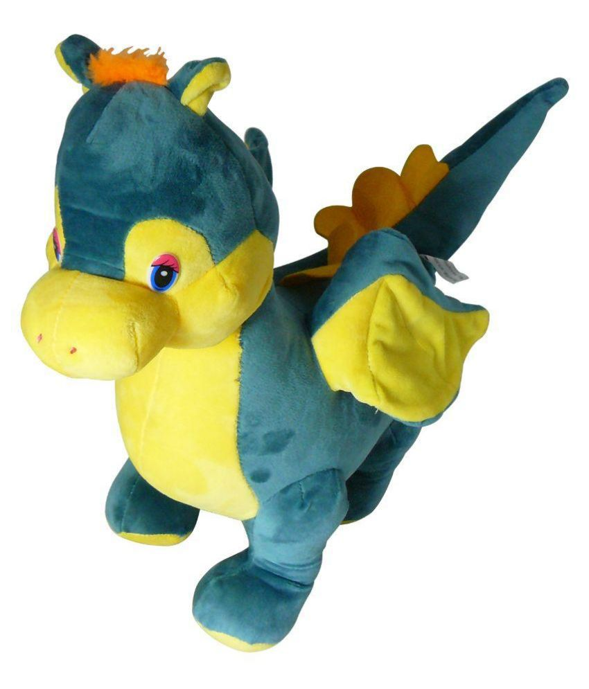 Unica Green Soft Cotton Dragon Big Stuffed Plush Soft Toy Buy