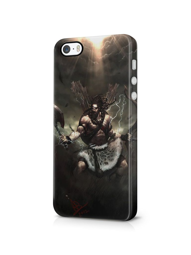 Cover Affair Lord Shiva 3D Printed Back Cover Case for Apple
