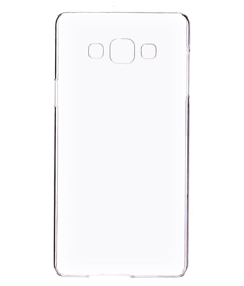 2010kharido Plain Back Cover For Samsung Galaxy A7   Transparent