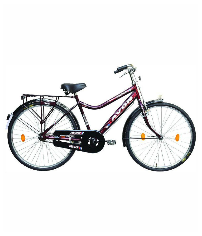df11ec0a761 Avon Cycles Black and Red Chromoly Steel Bicycle: Buy Online at Best Price  on Snapdeal