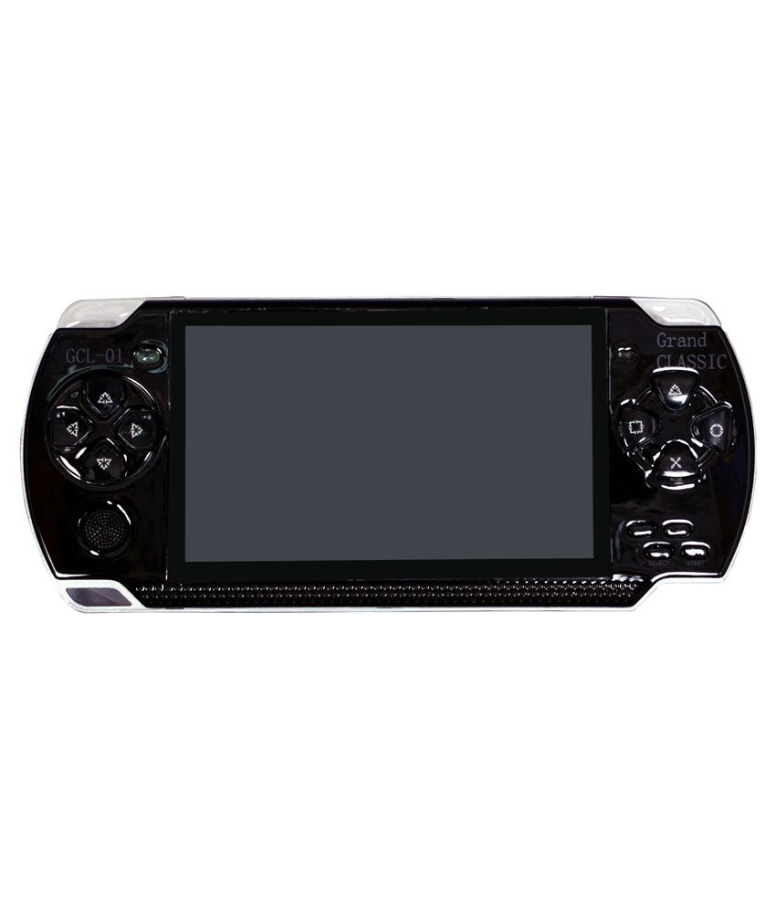 Bs Spy Black PSP Gaming Console