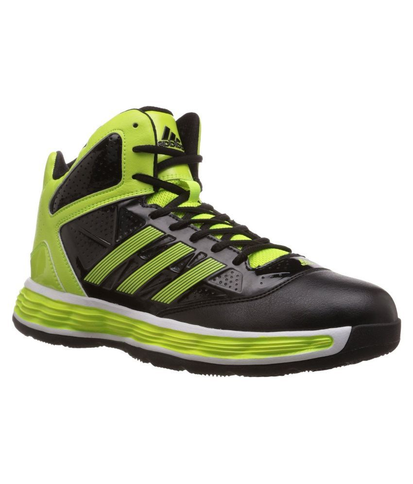 buy popular b67ea cd5d2 Adidas Black Basketball Shoes - Buy Adidas Black Basketball Shoes Online at Best  Prices in India on Snapdeal