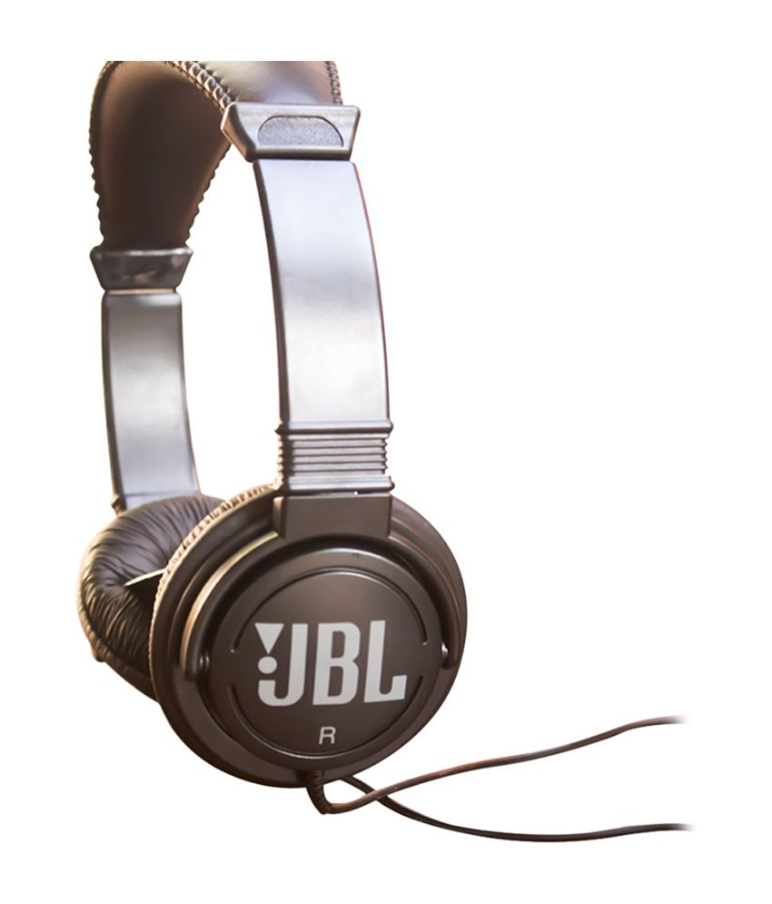 JBL C300SI Over Ear Wired Without Mic Headphone Black
