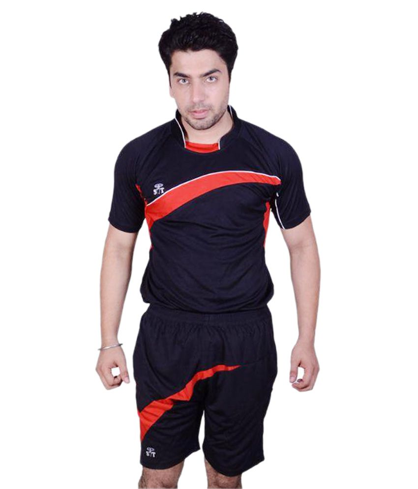 SST Designer Black Polyester Football Dress