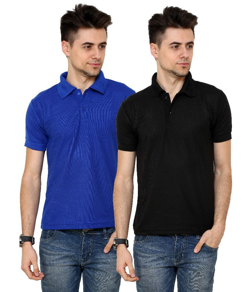 Grand Bear Smart Polo T-shirt For Men (Pack of 2)