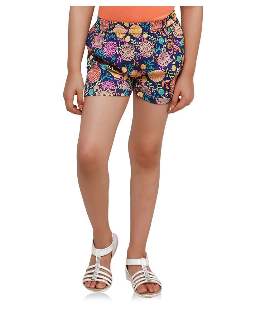 Oxolloxo Multicolor  Polyester Shorts