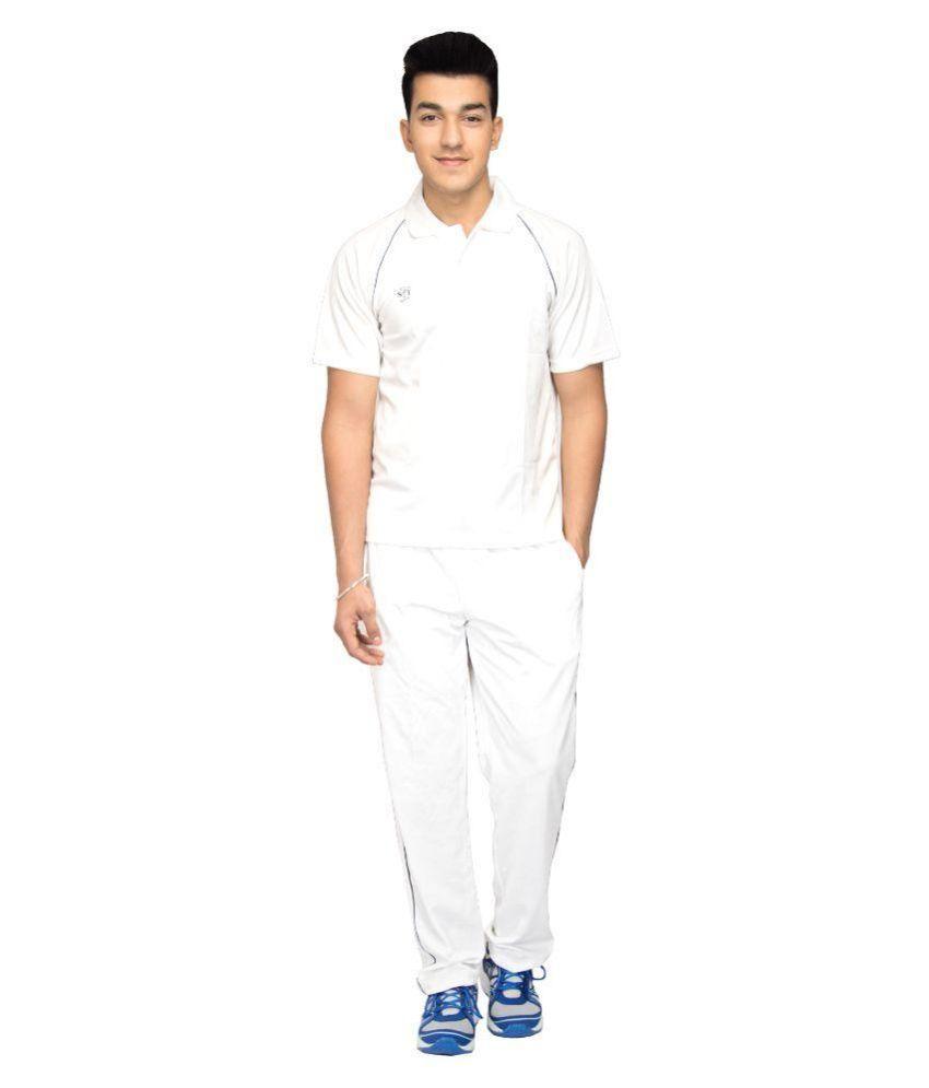 SST White Cricket Dress