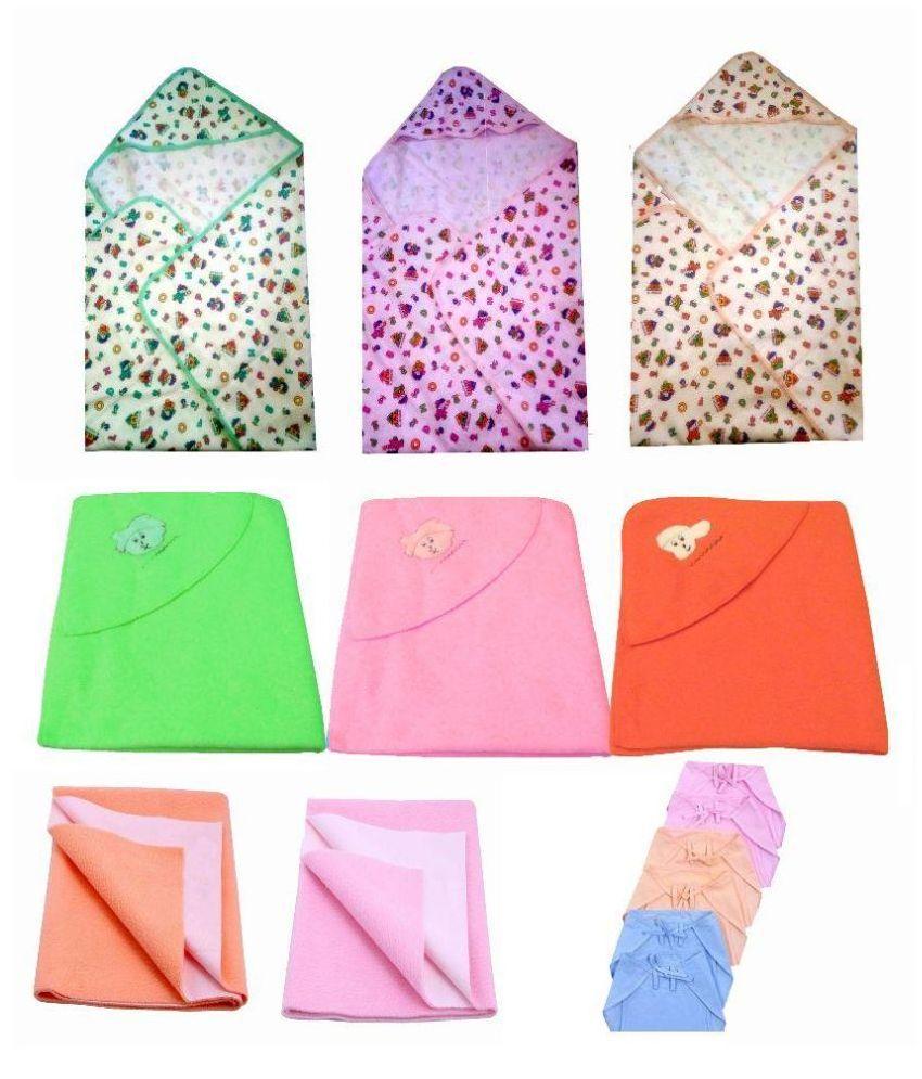 Big Bear Multi Color Baby Wraps Baby Blanket/Baby Swaddle/Baby Sleeping Bag