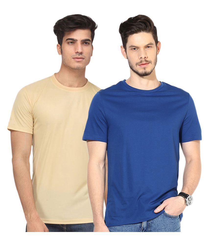 Go India Store Multi Round T Shirt