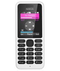 Nokia Nokia 130 Dual Sim White ( 256 MB White )
