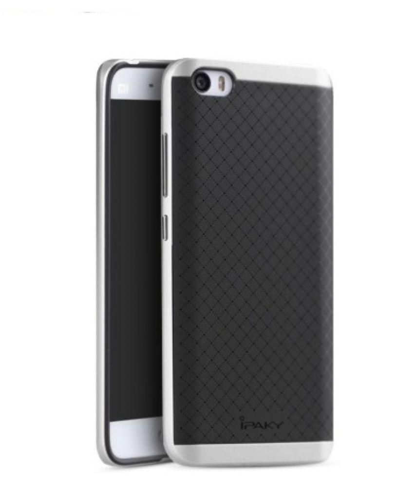 meet 5554c 15ca3 iPaky Back Cover For Xiaomi Mi5 - Silver
