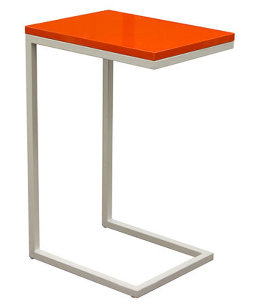 Angel briggs Side Sofa Table in Orange - Set of 2