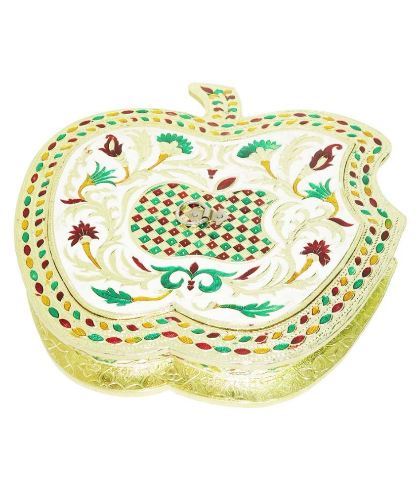Anjan Yellow Dry Fruits Box