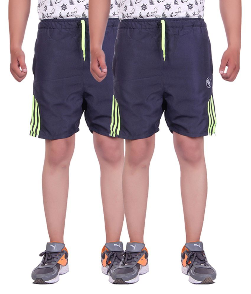Belmarsh Blue Shorts Pack of 2