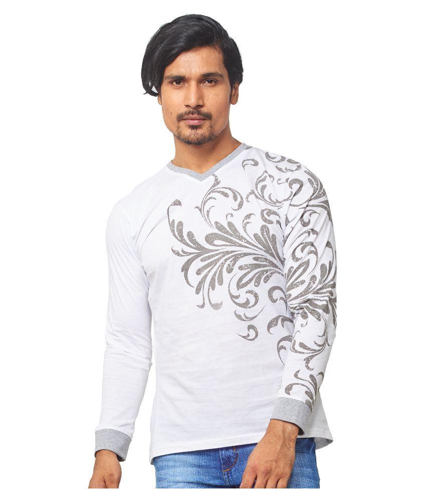 Thor White V-Neck T Shirt