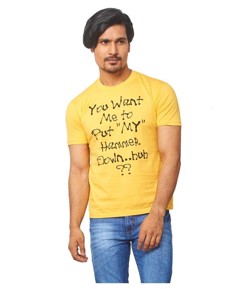 Thor Yellow Round T Shirt