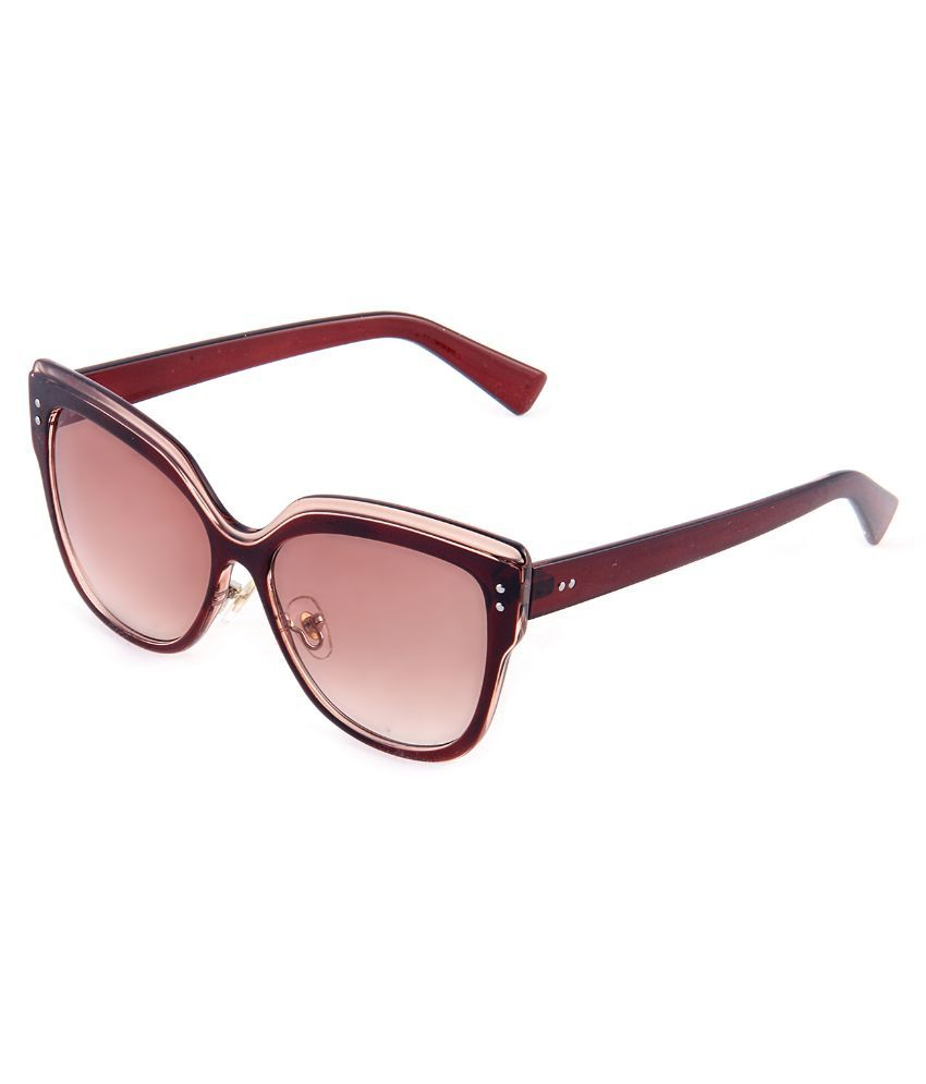 Di Tutti Brown Cat Eye Sunglasses ( 1355T )