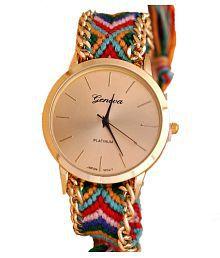 Geneva Multicolour Bracelet Analog Watch