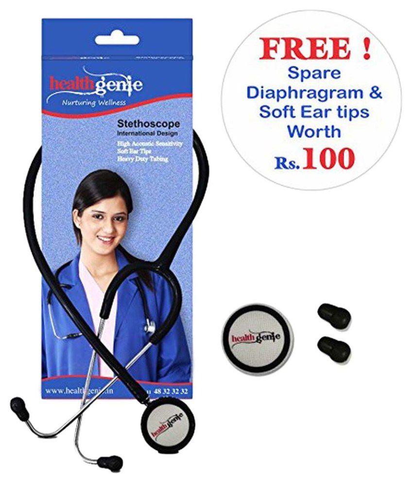 Healthgenie HG-101B  Mono Nurses Stethoscope 65 cm Cardiology