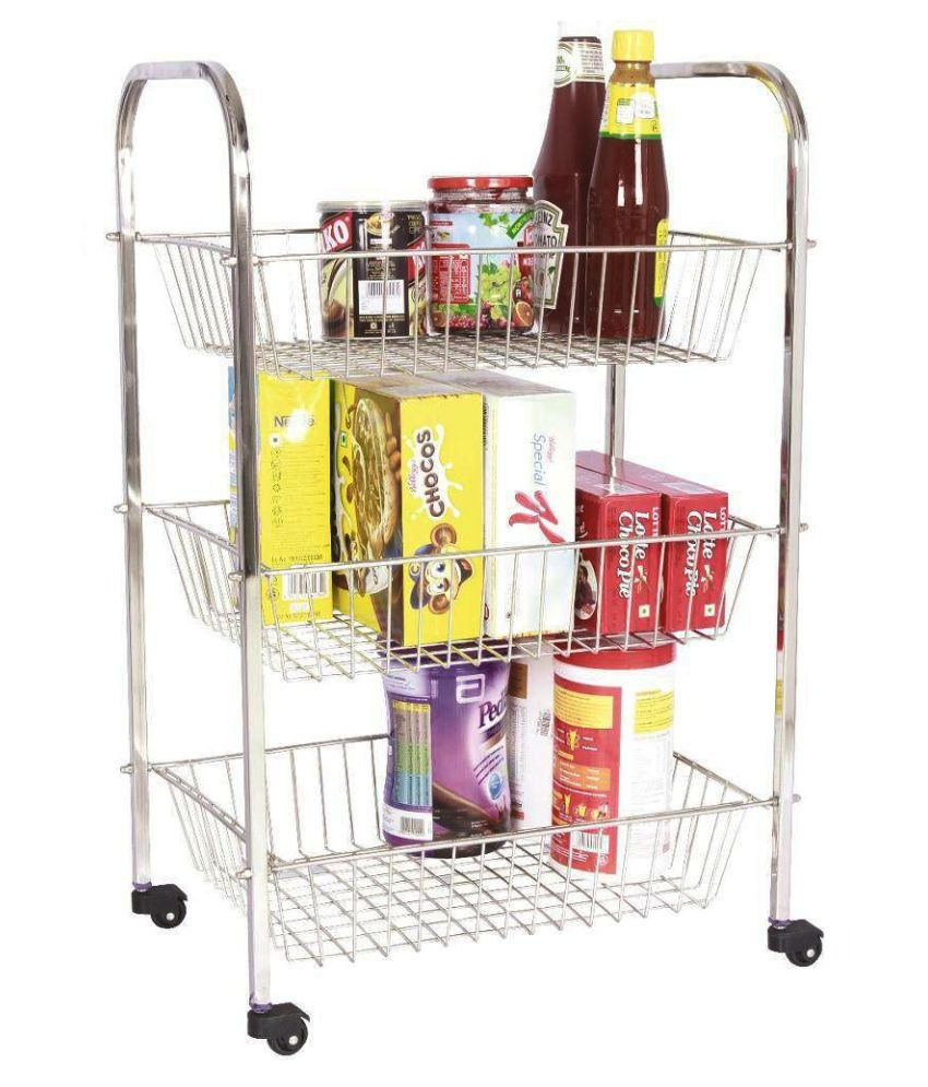 Kitchen Trolley Amol Stainless Steel Kitchen Trolleys Buy Amol Stainless Steel