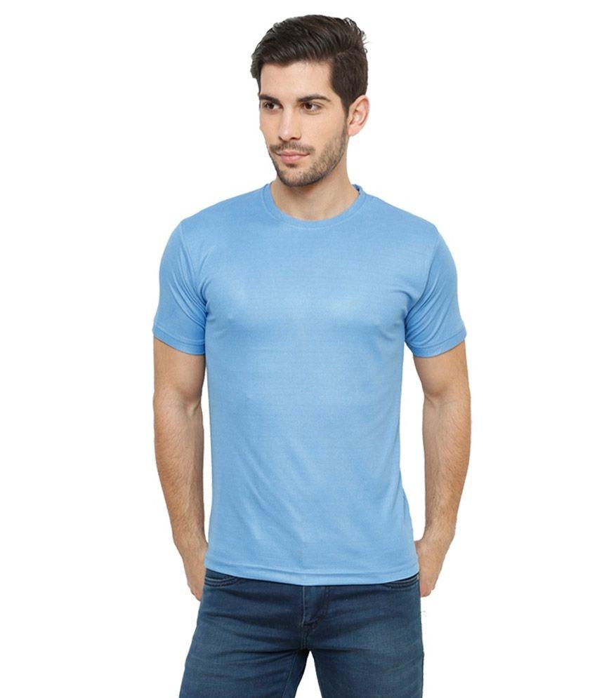 Grand Bear Dry-Fit Fitness T-Shirt - Blue