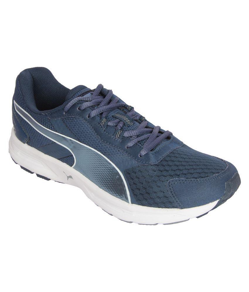 Puma sports shoes blue