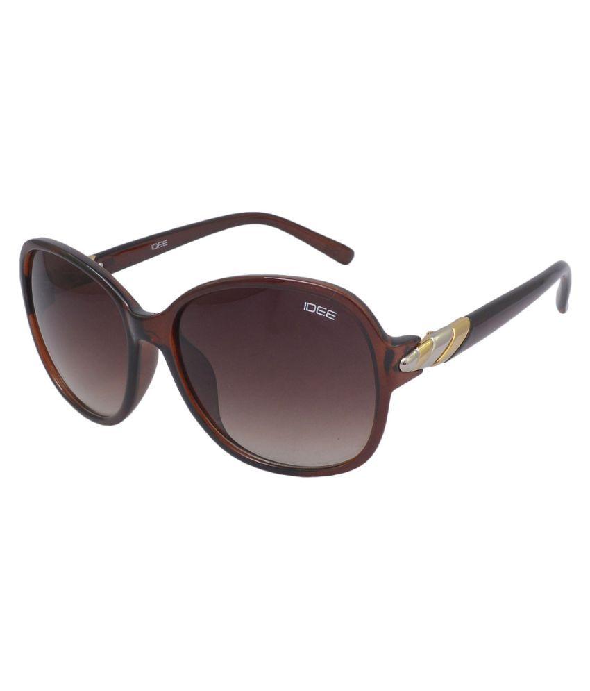 Idee Brown Square Sunglasses ( S2081-C2 )