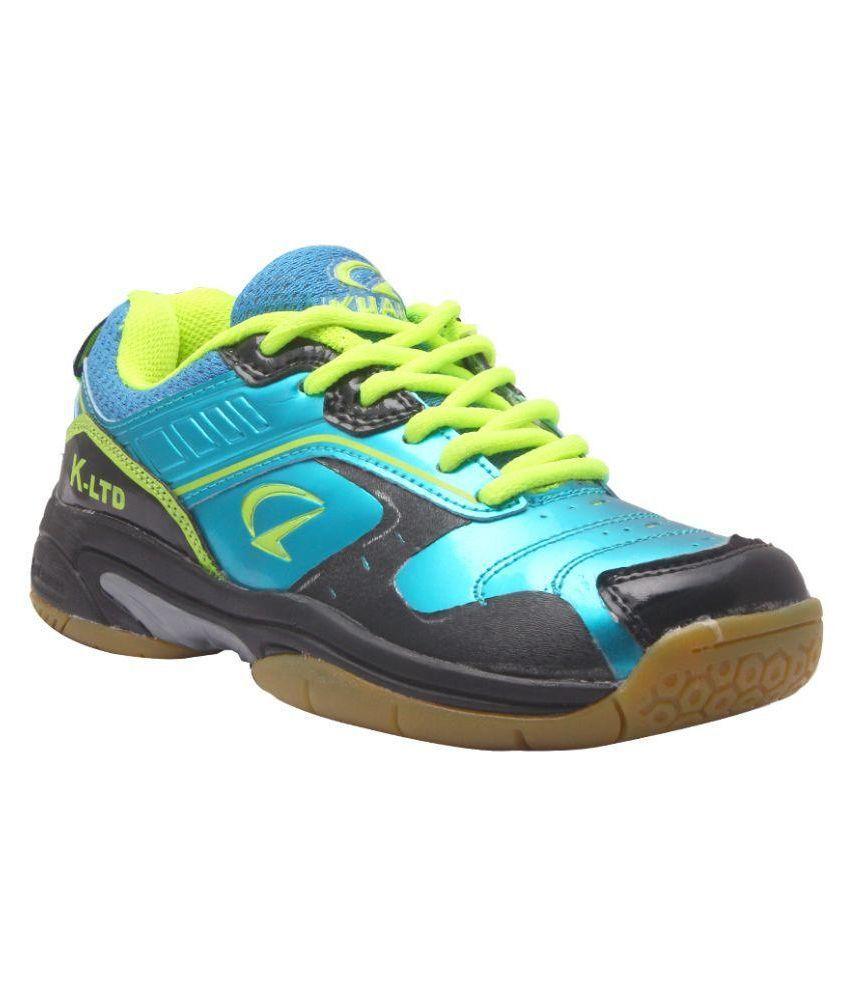014ae1f3b2265b Kuaike Blue Badminton Shoes - Buy Kuaike Blue Badminton Shoes Online at Best  Prices in India on Snapdeal