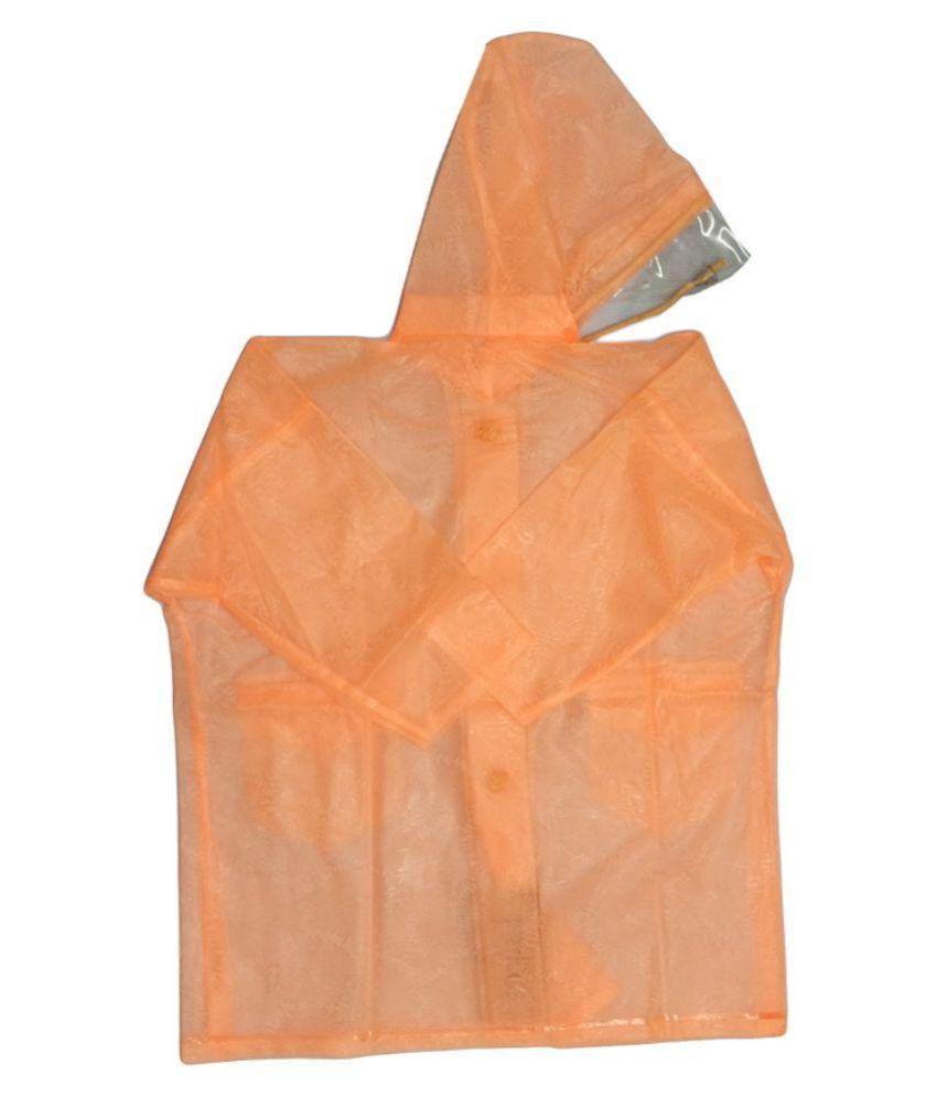 Prince Rainwear Orange Nylon Rainwear