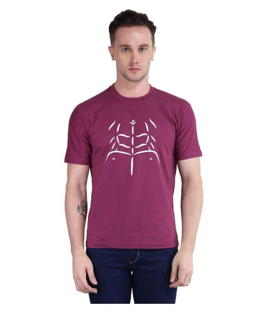 British Terminal Purple Round T Shirt