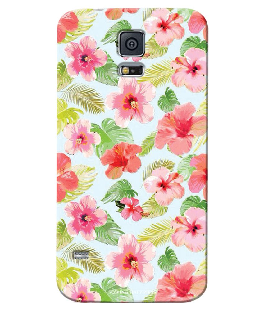 Samsung Galaxy S5 Printed Back Cover by Sowing Happiness   Multicolor