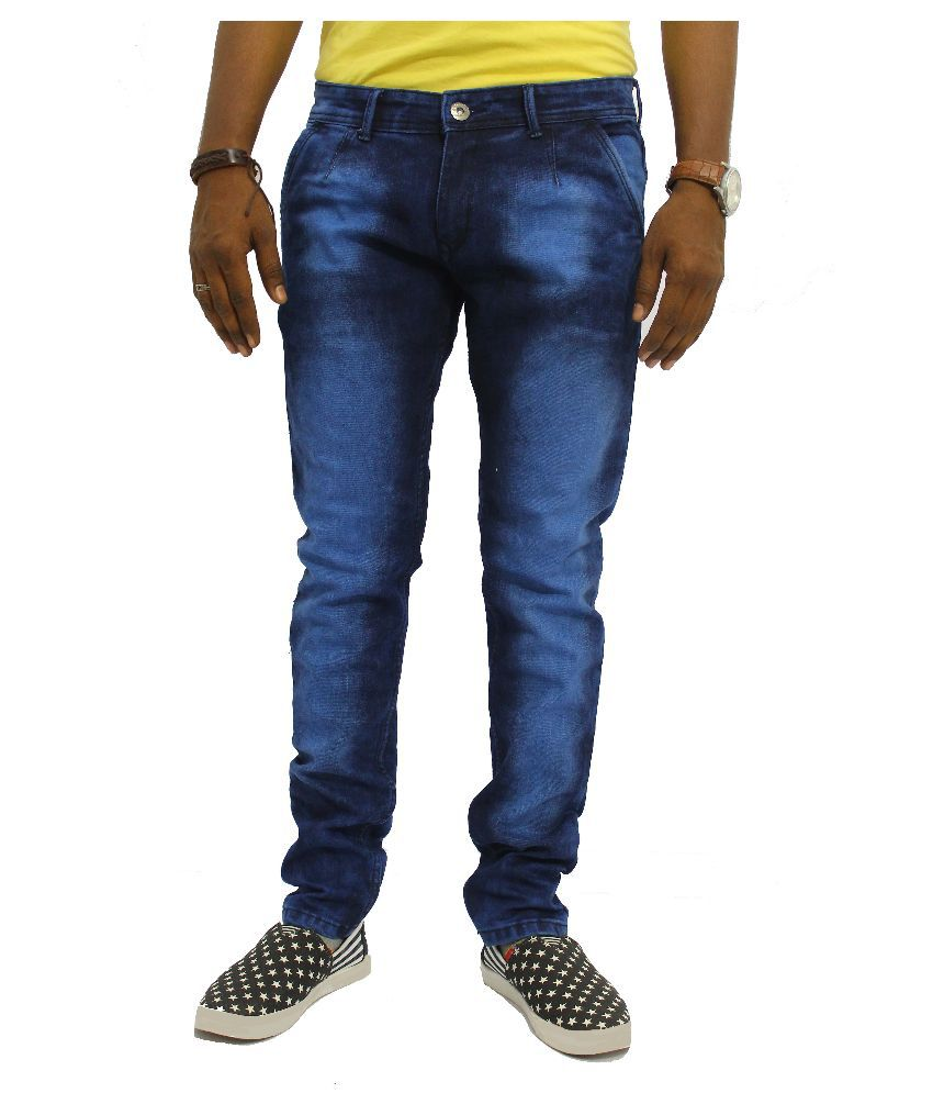 Jugend Blue Regular Fit Washed Jeans