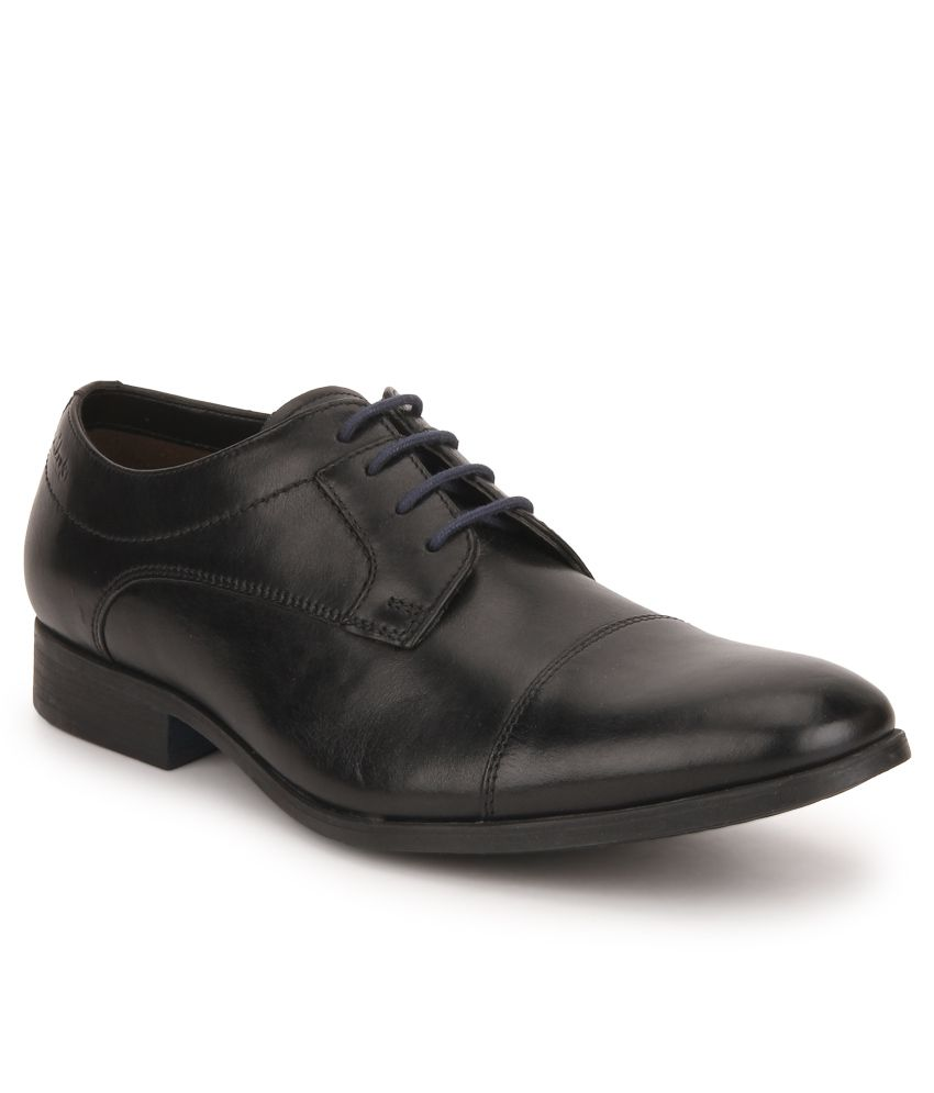 4dd697033e28c Clarks Banfield Cap Black Formal Shoes Price in India- Buy Clarks Banfield  Cap Black Formal Shoes Online at Snapdeal