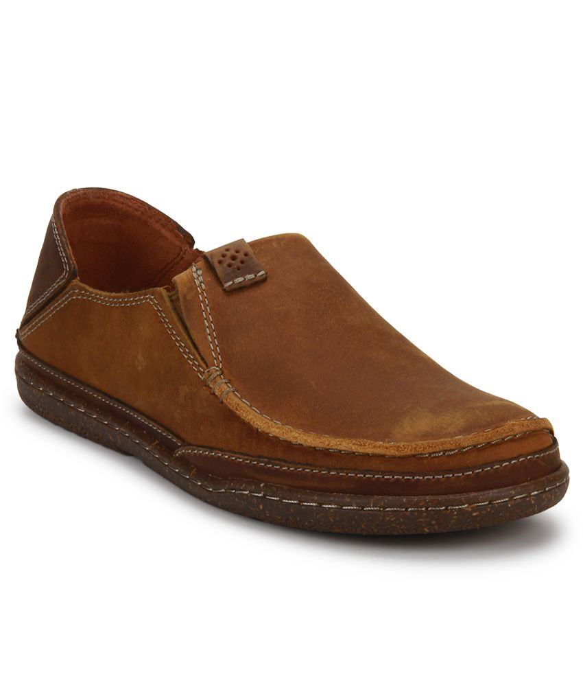 Clarks Trapell Form Tan Lifestyle Casual Shoes ...