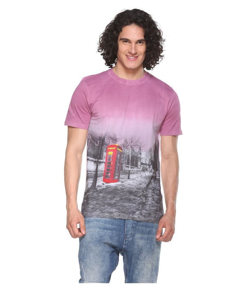 Pro Riders Multicolor Round T Shirt